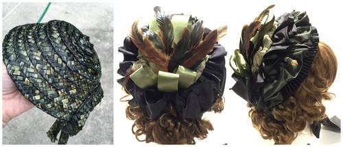 1890's Hat collage by Timestitcher