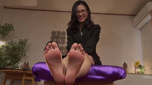 Japanese Lady Bare Soles