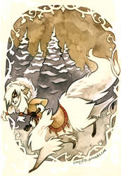 Arctic Centauress by cryptosilver