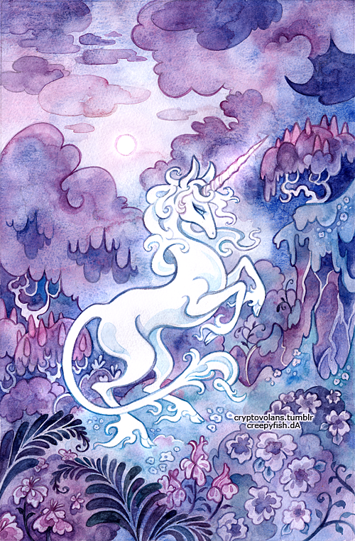 The Last Unicorn by cryptosilver