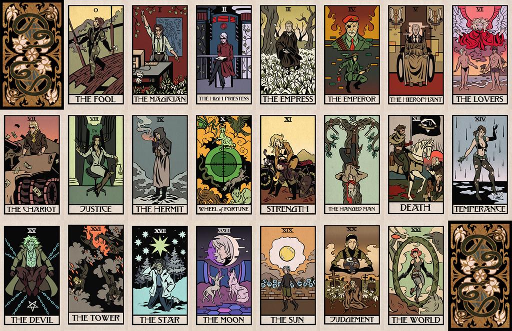 Metal Gear Tarot By Cryptosilver On DeviantArt
