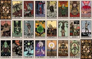 Metal Gear Tarot