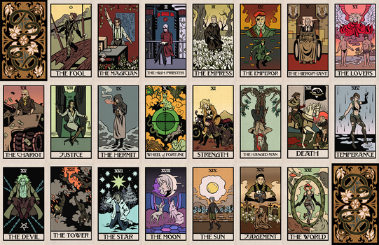Metal Gear Tarot