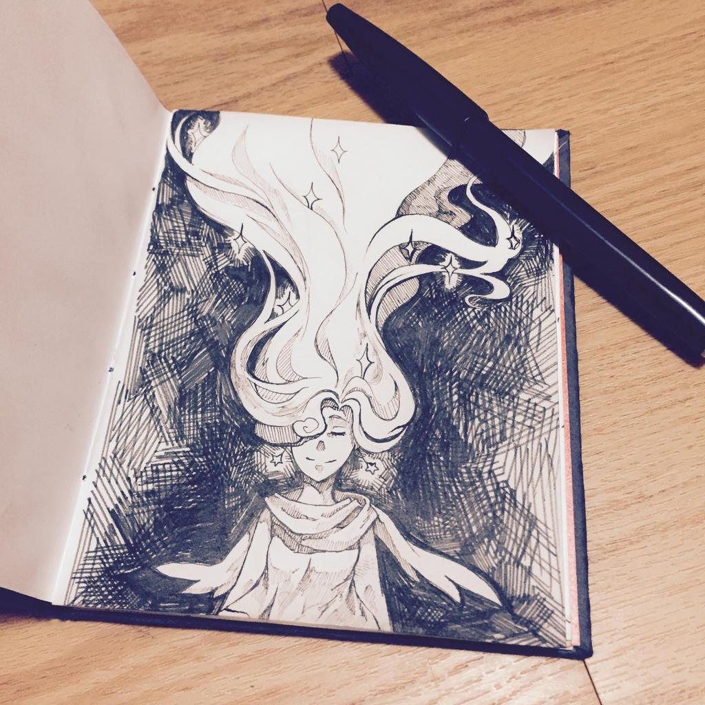 Inktober #1 by Apus-Pallidus