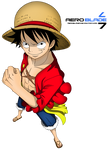 Mugiwara No Luffy - One Piece(Coloring)