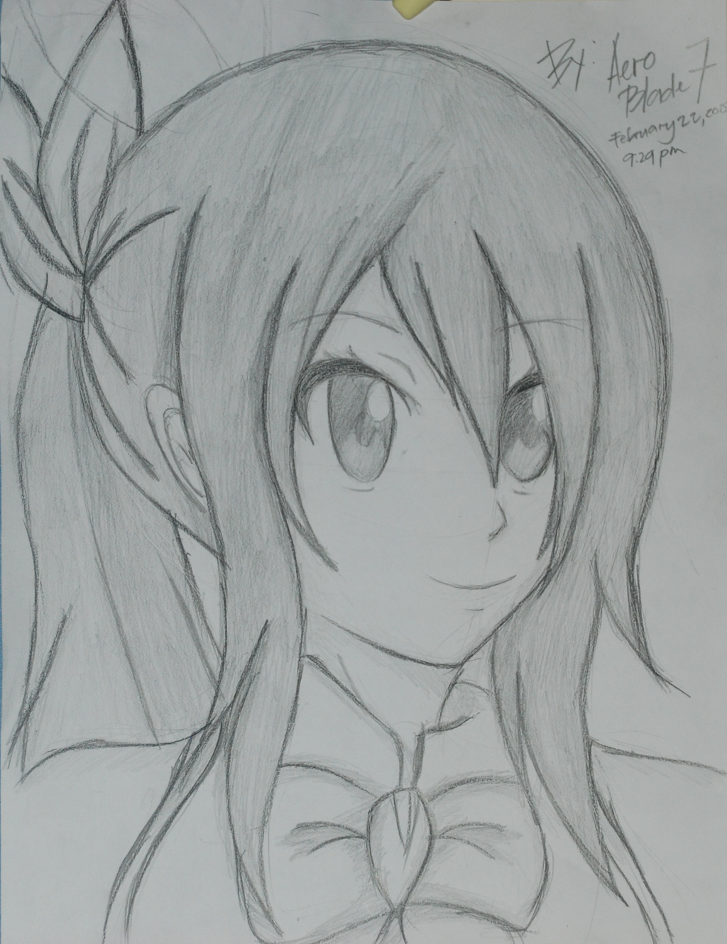 Lucy hearthfilla fairy tail drawing by aeroblade7 on - Lucy fairy tail drawing ...