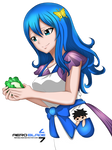 Juvia's Cooking Time - Fairy Tail(Coloring)