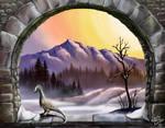 2016-12 B.Ross Pastel Winter Study - DA posted