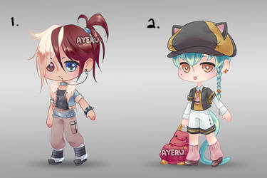 New Base Adopts [PayPal Auction CLOSED] by ayeru