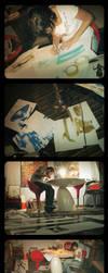 Making of Perfil by lasirenita