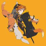 Inari-kun and his buddies