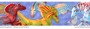 The Hippocamp Part 3 - ACEO by soulofwinter