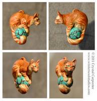 Cat Lights - Orange Tabby by soulofwinter