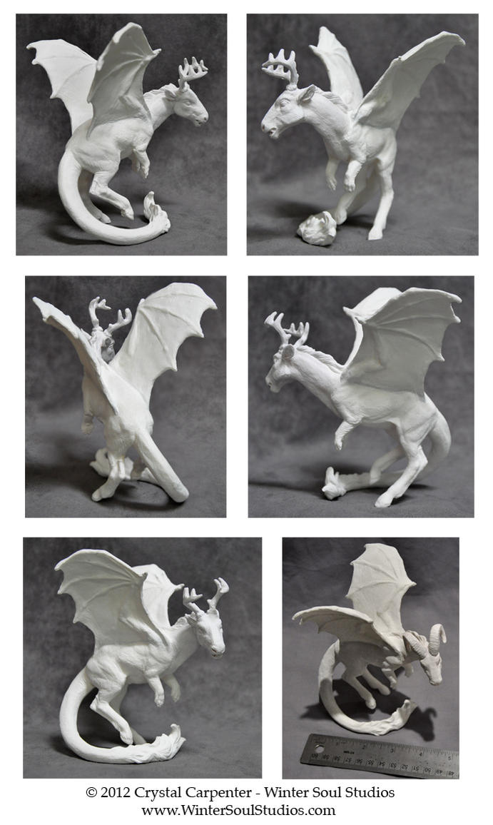 Demon Dragon - Unpainted Turn by soulofwinter