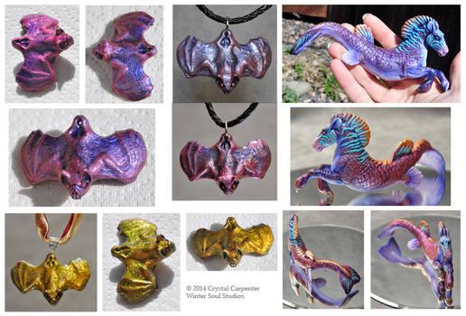 Chameleon Pigment Experiments