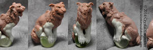 Shisa Ornament by soulofwinter