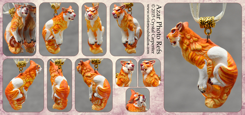 Shisa Ornament - Azar by soulofwinter