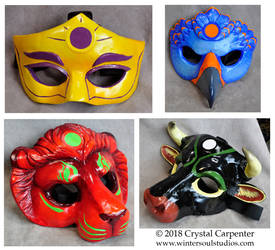 Kerubic Masks by soulofwinter