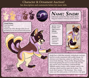 Character Auction - Sindri - CLOSED