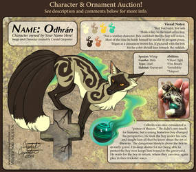 Character Auction - Odhran - CLOSED