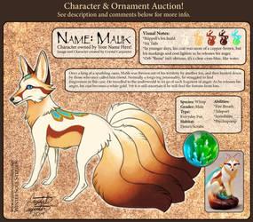 Character Auction - Malik - CLOSED