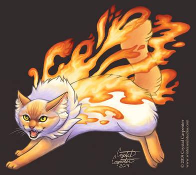 Nebula Cats - Solar Flare
