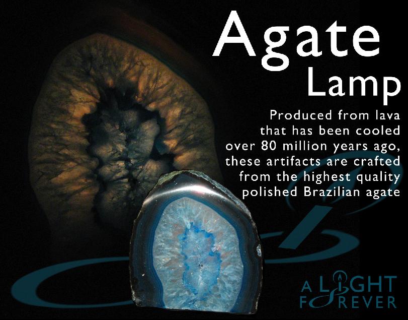Agate Lamp By ALightForever ...