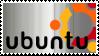 Brushed Ubuntu Stamp