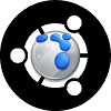 FlockBuntu - New Branding2 BW by gamerchick03