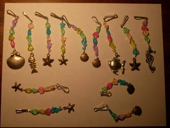 DoN Sea Life Purse-Pulls by gamerchick03