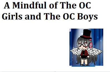 A Mindful of The OC Girls and The OC Boys Titleca by WillowFanatic28