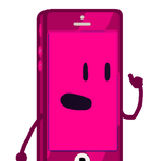 Fuchsia IPhone (PNG)