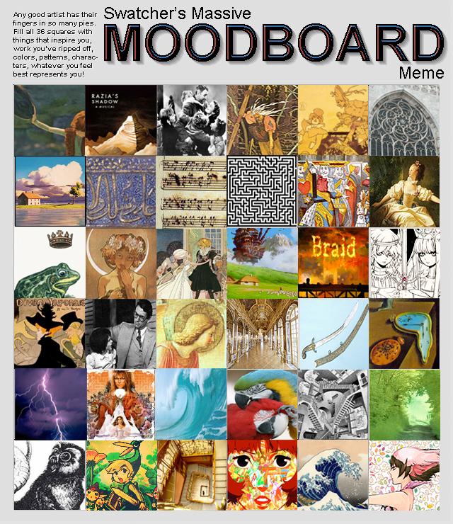 Mood Board by LuckyBlackCatXIII on DeviantArt
