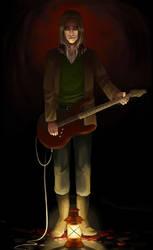 Daniel's Guitar Solo by LuckyBlackCatXIII
