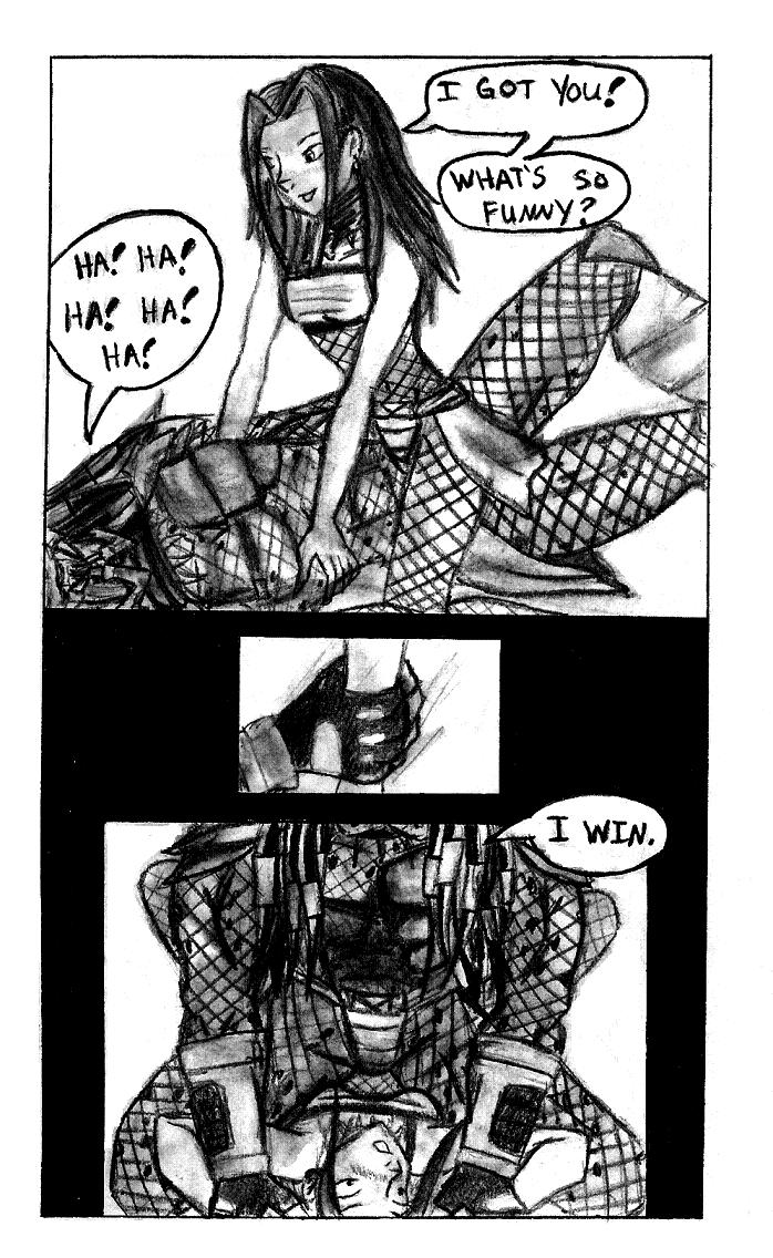 Alien Vs Predator Comic Pg 40 by Dahdtoudi ...