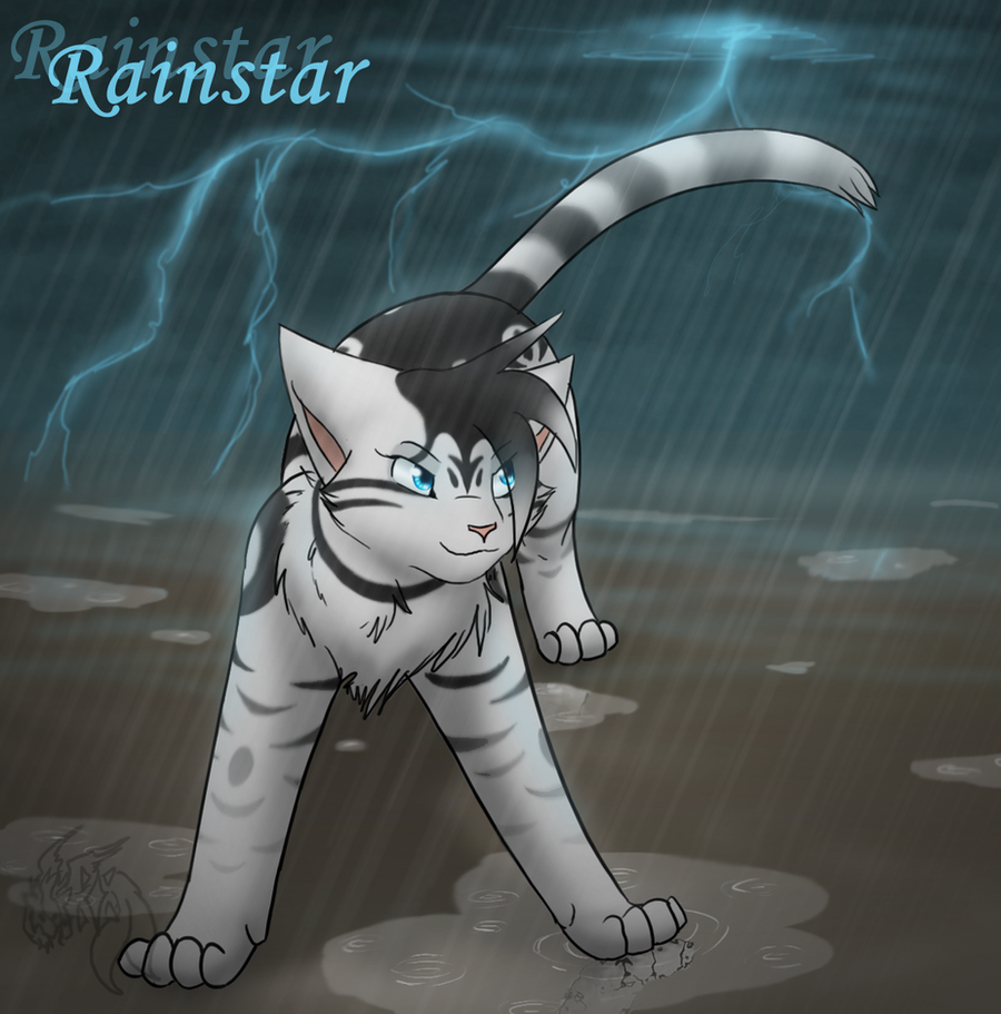 Warriors Into The Wild Online: Warriors FC- Rainstar By Min-mew On DeviantArt