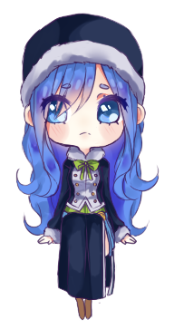 chibi juvia by yoruuchii on deviantart