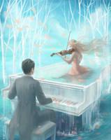 Violin Sonata - Moderato e cantando by belleleung