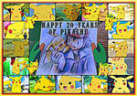 Happy 20 Years Of Pikachu~!