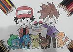 Pokemon-The Start~Hand Drawing-19