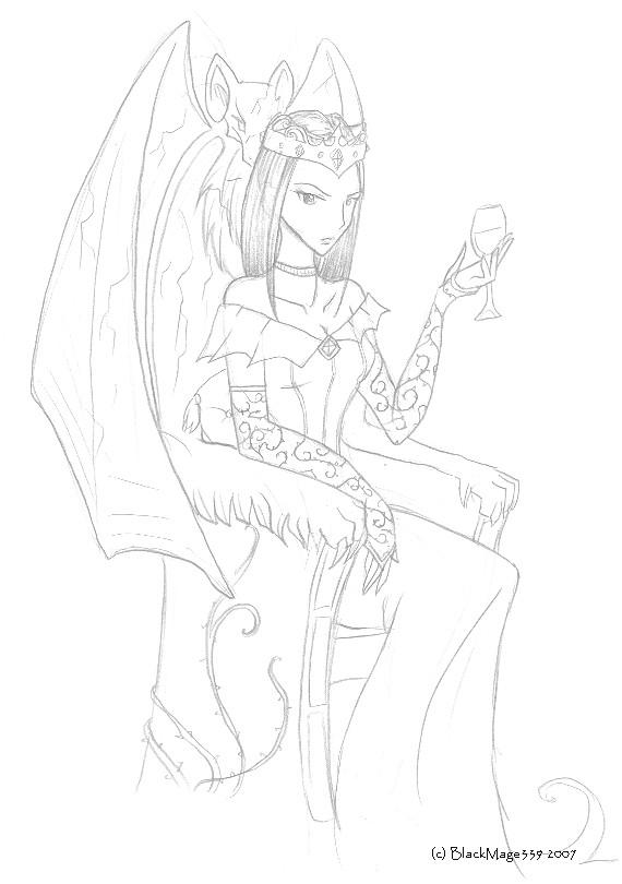 Her Vampiric Majesty by BlackMage339