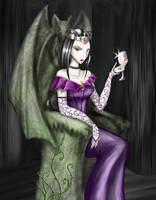 The Vampire Queen by BlackMage339