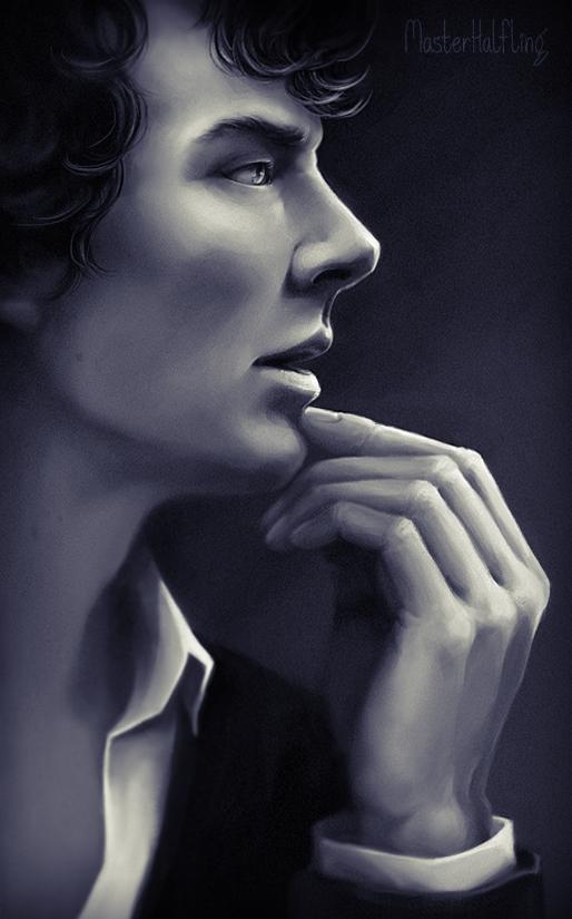 Sherlock by masterHalfling