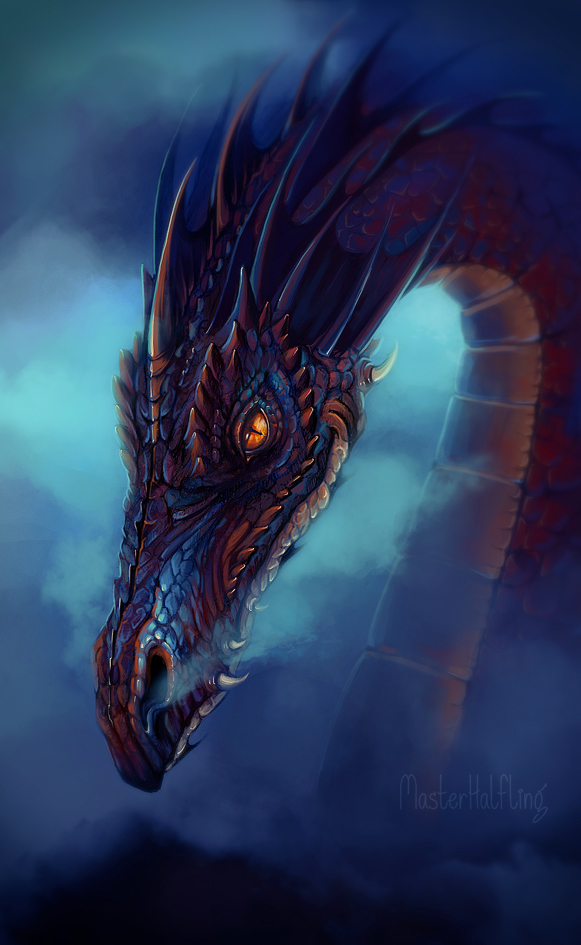 Smaug The Magnificent by masterHalfling