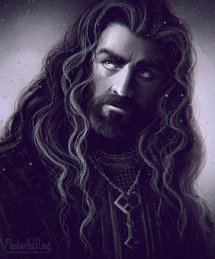 Thorin Okenshield by masterHalfling