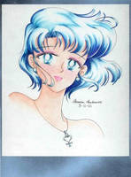 Sailor Mercury by artistamonique