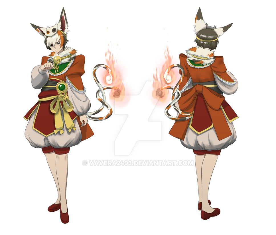 Noboru - Full Body (Front and Back) by VAVera2493