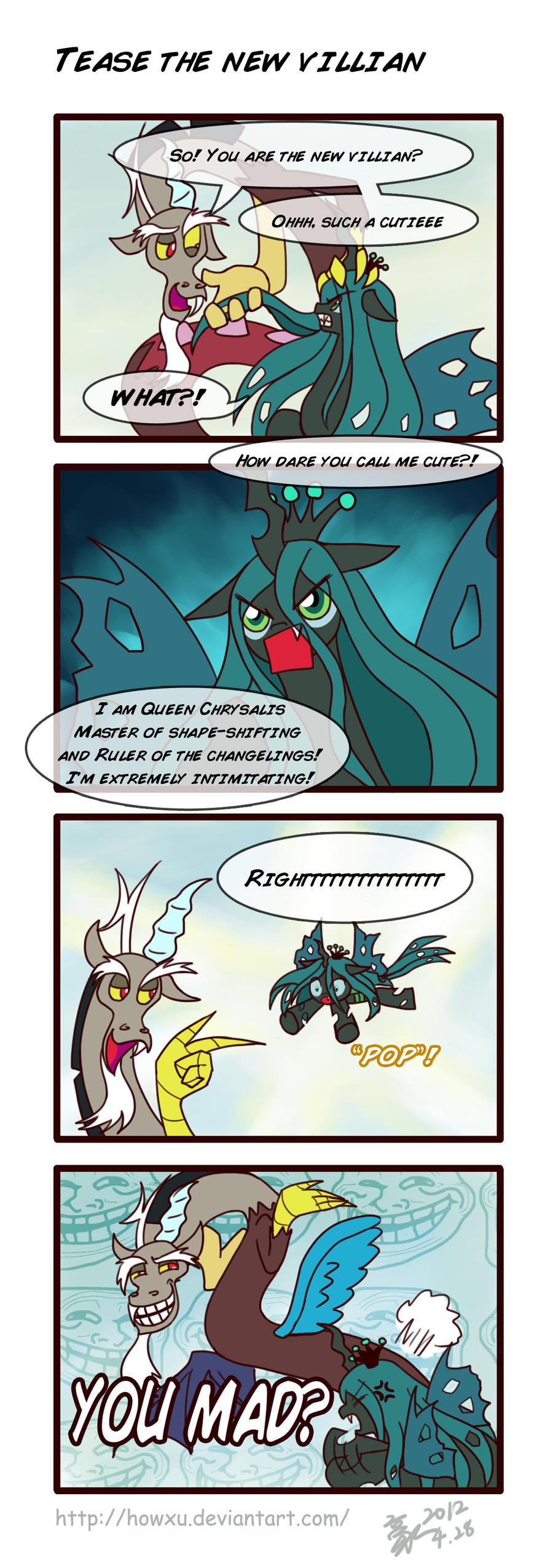 Tease the new villain by HowXu