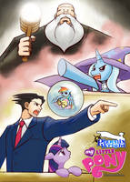 Phoenix Wright MLP:FIM turnabout storm by HowXu