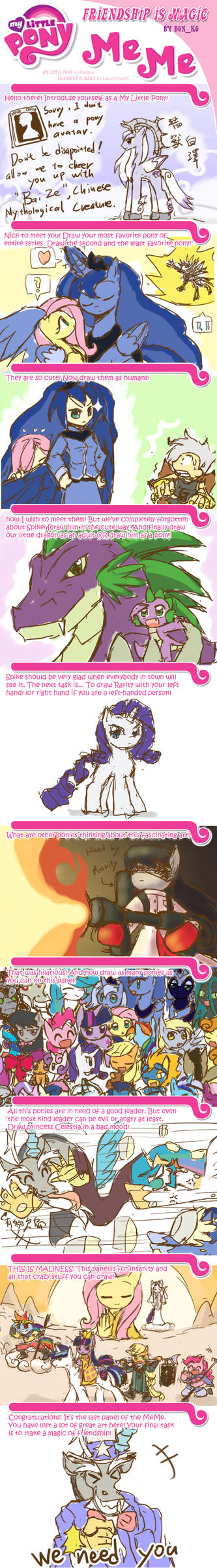 My Little Pony FIM meme by HowXu